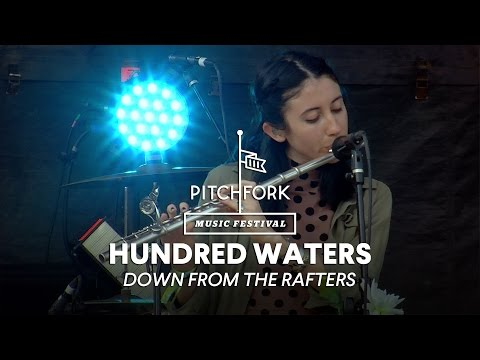 """Hundred Waters perform """"Down From the Rafters"""" - Pitchfork Music Festival 2014"""