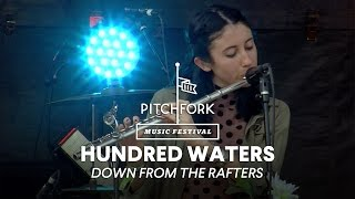 "Hundred Waters perform ""Down From the Rafters"" - Pitchfork Music Festival 2014"