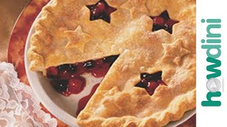 How To Garnish Pie Crusts With Decorations