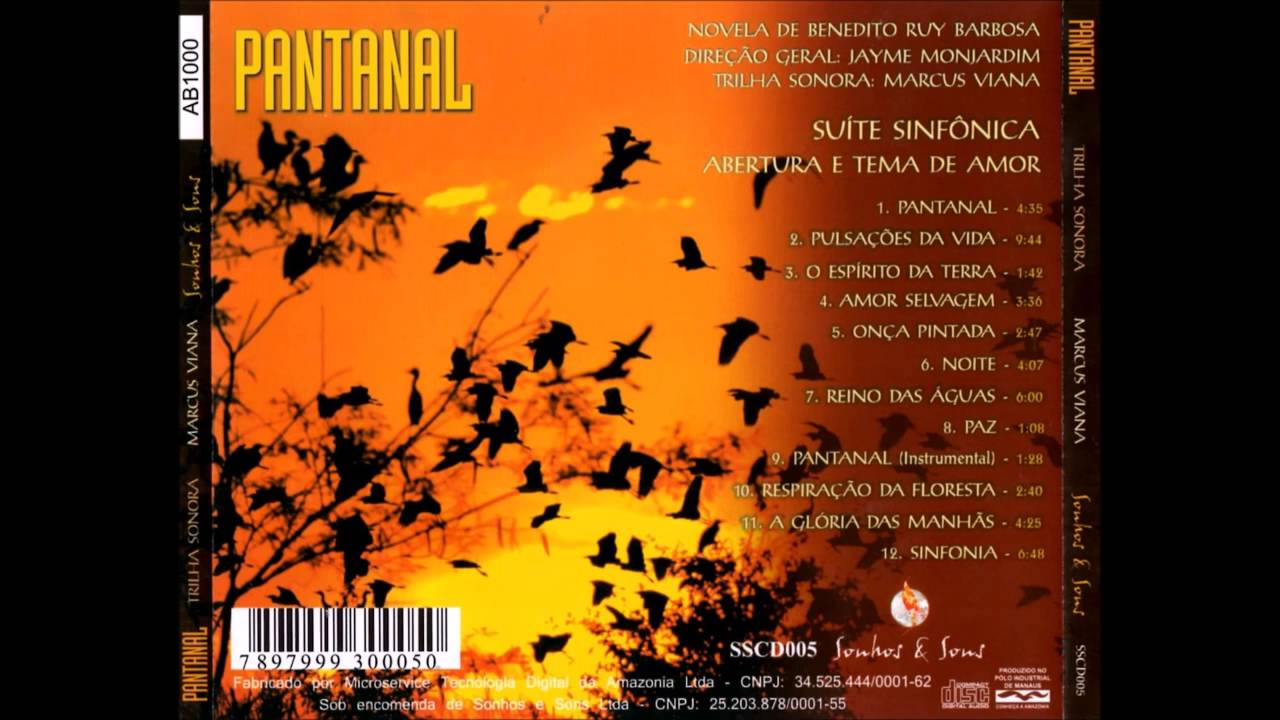 cd da novela pantanal