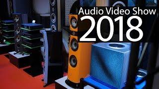 Audio Video Show 2018 trwa - relacja z pierwszego dnia wystawy