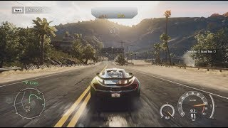 Need for Speed : Rivals, Max Upgraded McLaren P1, Hot Pursuit, Savage Police Cars.