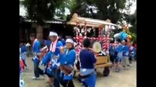 2012y桶狭間神明社秋期大祭 桶中神楽会