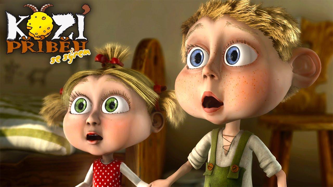 Kozí příběh se sýrem - Pohádka pro děti - celý animovaný film v HD