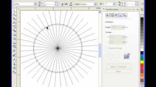 Creating Scroll Saw Patterns With Corel Draw. Basket Part 2