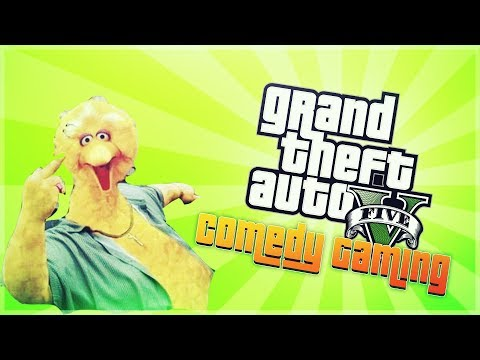 GTA 5 - Goofing Off - BigBird  - For My Gangstas - Comedy Gaming