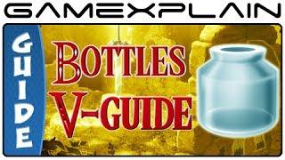 Zelda: A Link Between Worlds - All Bottle Locations (Guide & Walkthrough)