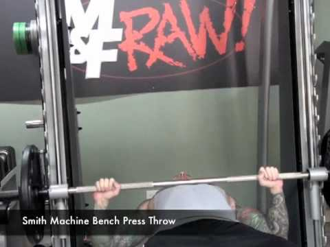 Smith Machine Bench Press Throw By Jim Stoppani Youtube