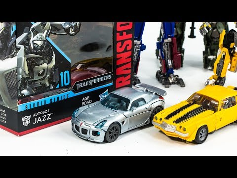 Transformers Movie Studio Series SS-10 Deluxe Class Jazz Vehicle Car Robot Toys