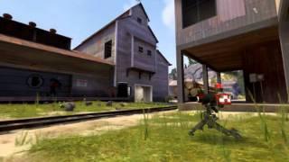 TF2 Team Fortress 2 Убийство в полете!amb