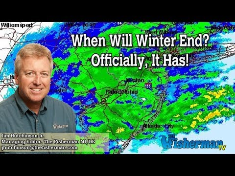 March 22, 2018 New Jersey/Delaware Bay Fishing Report with Jim Hutchinson, Jr.