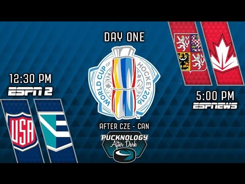 Pucknology After Dark (Postgame) World Cup of Hockey Day One 9/17/2016
