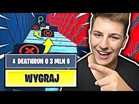 DEATHRUN O 3 MILIONY DOLARÓW W FORTNITE! JACOB