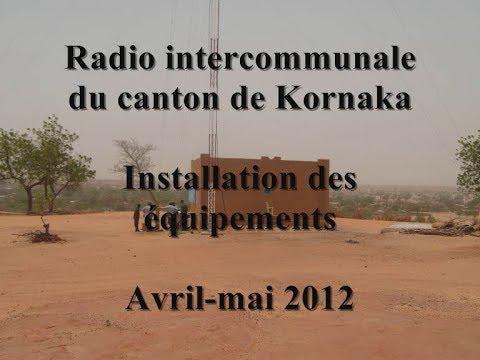 Radio intercommunale de Kornaka au Niger : équipement et premières émissions