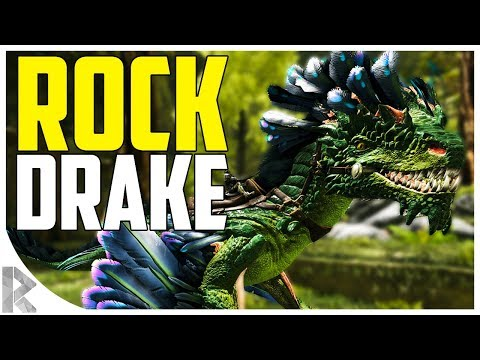 HATCHING A ROCK DRAKE!!! - How to Raise a Rock Drake - Ark Aberration Expansion Pack DLC EP#19