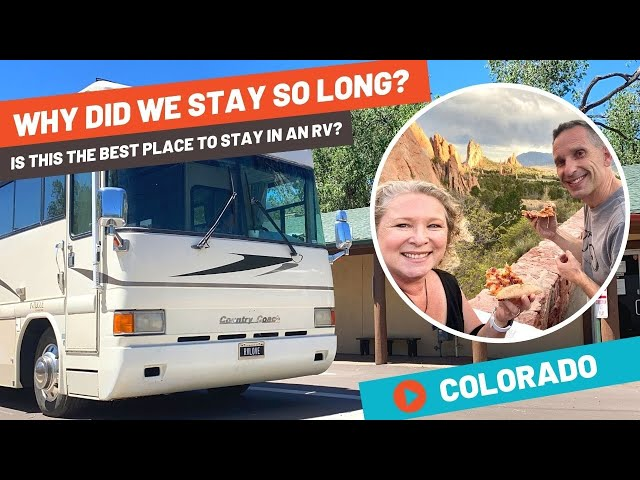Our Longest RV Stay EVER! Garden of the Gods Colorado RV Resort Review and Tour | RV Life
