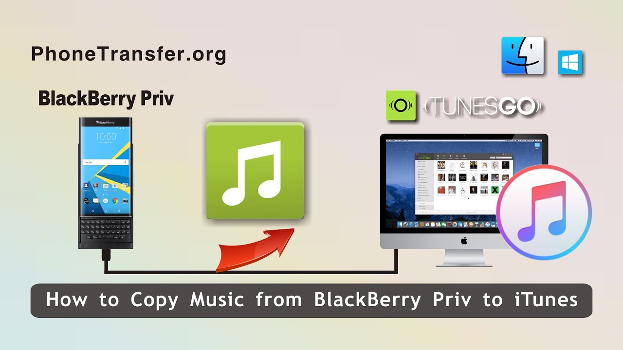 How to sync music from itunes to blackberry torch 9800.
