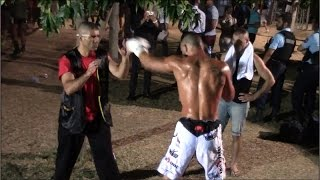 MUAY THAI : LIDON - NASSER K  ( Warming Up )