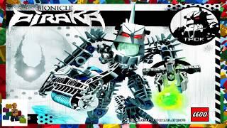 LEGO instructions - Bionicle - 8905 - Thok