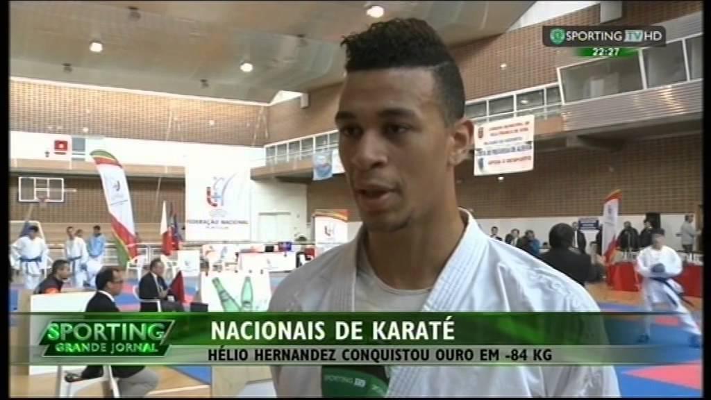 Karaté :: Hélio Hernandez Campeão Nacional Sub-21 22/02/2015