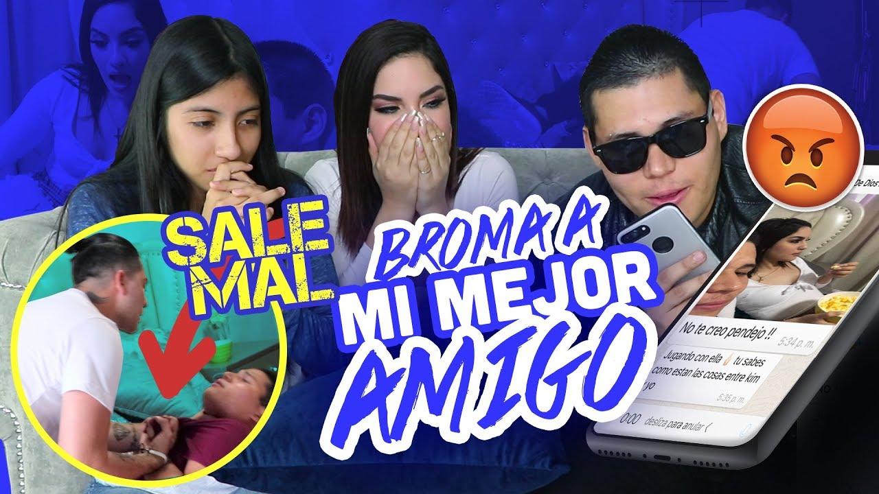 Kim Y Yo Somos Novios Con Pruebas Broma A Juan De Dios Sale Mal Ft Kimberly Loaiza Elsupertrucha Youtube