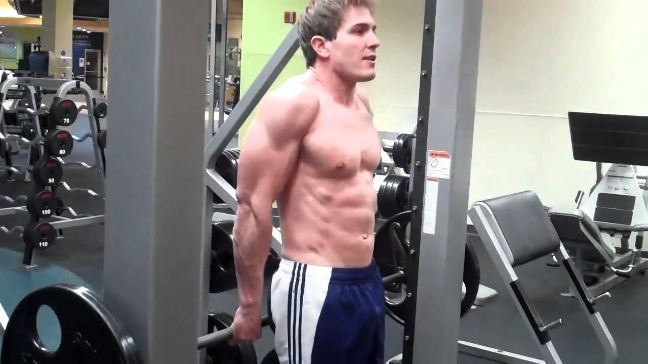 how to smith machine reverse shrug youtube