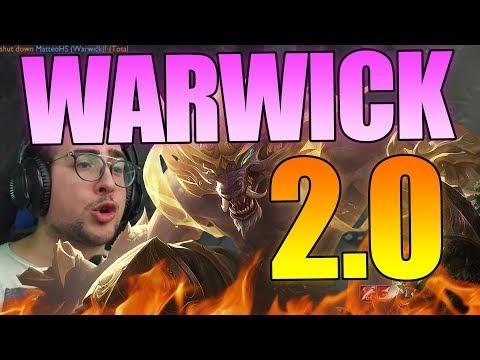 MATTEOHS | WARWICK 2.0 | PATCH 8.21| LEAGUE OF LEGENDS GAMEPLAY ITA thumbnail