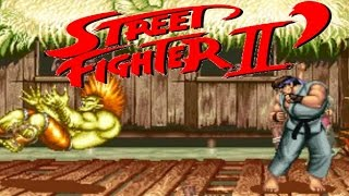 Street Fighter II Champion Edition (ARCADE CPS1) 1CC Ryu Playthrough (FULL GAMEPLAY)