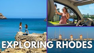 🇬🇷Exploring Rhodes 🇬🇷| Greek Islands Vlog #1