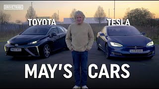 James May reviews his own cars - Tesla Model S vs Toyota Mirai