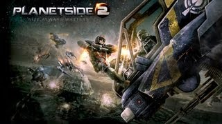 PlanetSide2 Gameplay on Asus G750JW