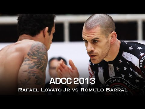 Rafael Lovato Jr vs Romulo Barral: Looking Back at ADCC 2013 Final