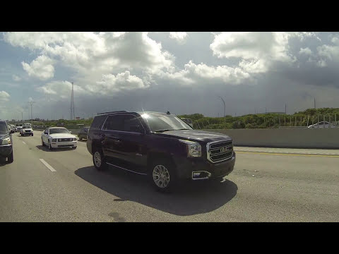 Miami, Boca Raton to Jacksonville, Florida, 4 August 2016, Drive