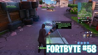 Fortnite Battle Royale ? Fortbyte Challenges How to get the Fortbyte #58