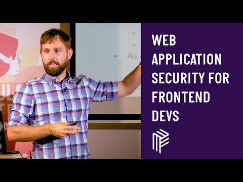 Thumbnail for Angular Vienna, Web Application Security for Frontend Devs, July 2019