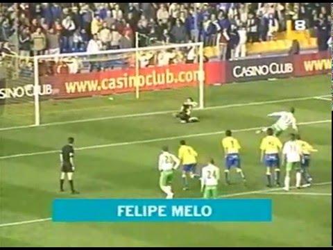 Racing Santander goles 05- 06