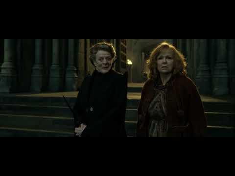 Гарри Поттер и Дары Смерти 2 - Защита Хогвартс (HD)