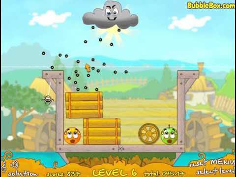 Игра Супер прикольная Спаси Апельсин 2