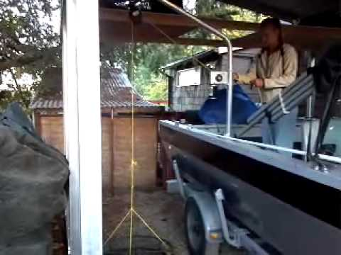Motorized Crab Pot Puller Youtube