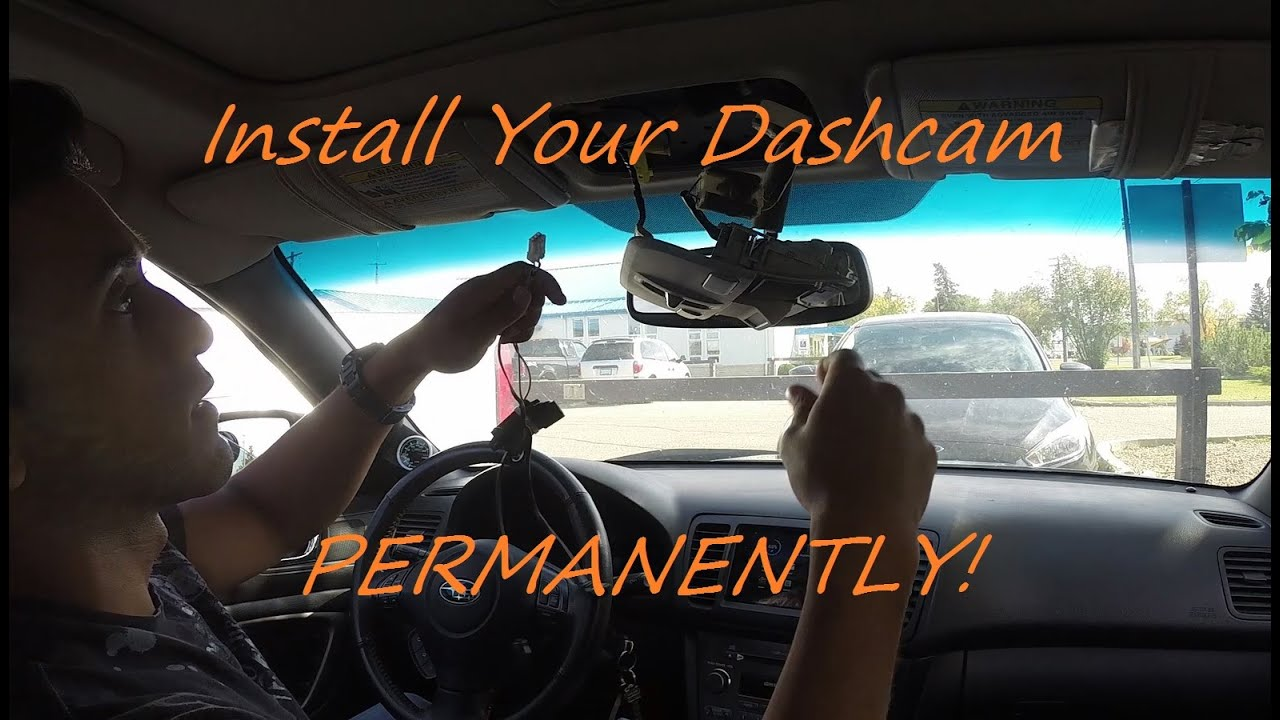 hight resolution of how to hardwire a dashcam using your rear view mirror