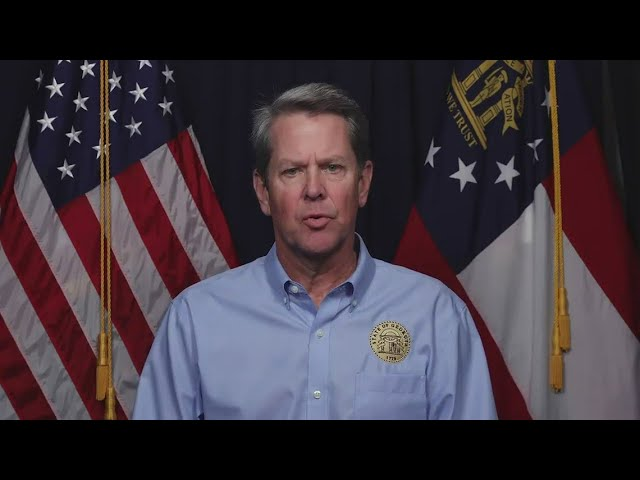 New Shelter-in-place Guidelines from Governor Kemp