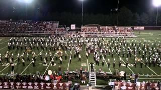 2012 Dobyns Bennett Marching Band Football Show