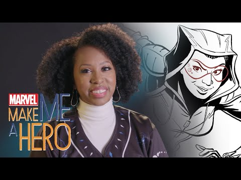 Wakanda Warrior | Marvel Make Me a Hero