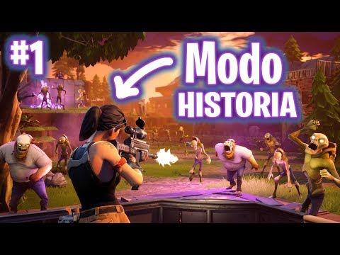 INICIO LA HISTORIA! FORTNITE: Salvar El Mundo #1