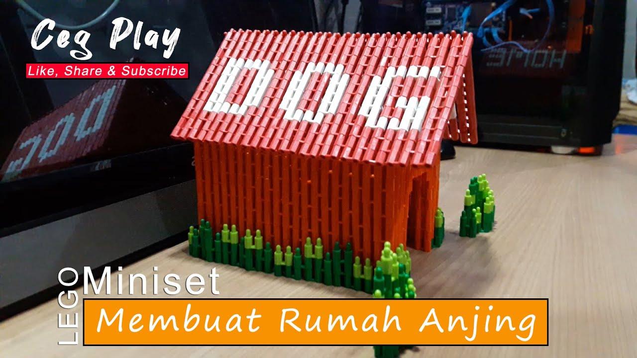 Buat Rumah Anjing dengan Lego Miniset - YouTube