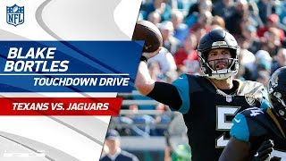 Blake Bortles Leads His Team Downfield on TD Drive to Take the Lead | Texans vs. Jaguars | NFL Wk 15