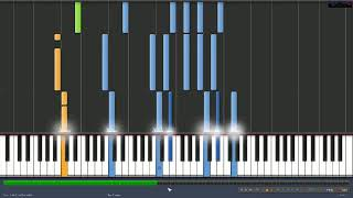 Lady, Lady, Lady Joe Esposito Synthesia Piano Tutorial