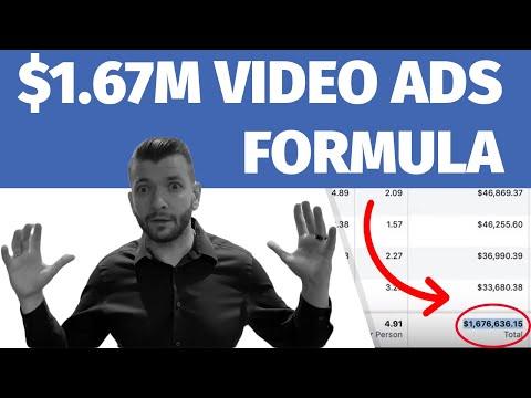 My $1.67M Facebook Video Ads Formula: REVEALED