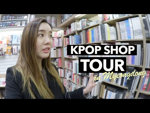 Underground Shopping for K-Pop Merch in Myeongdong