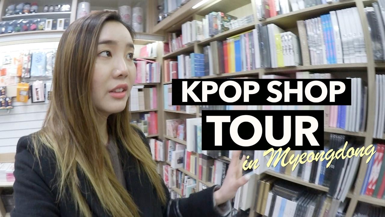 3778bc09793 Underground Shopping for K-Pop Merch in Myeongdong - YouTube